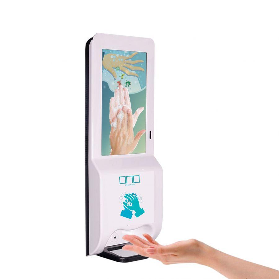 ONO Safety Dispenser digital signage