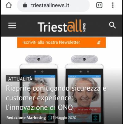 Articolo su Trieste All News
