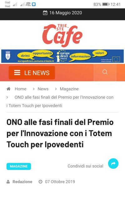 Finale Premio per l'Innovazione
