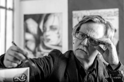 Mario Tiberio - Affreschi digitali, allestimenti artistici